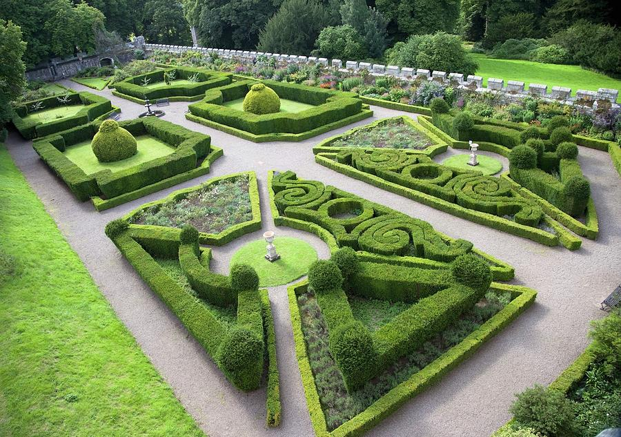 manicured-garden-chillingham-castle-john-short